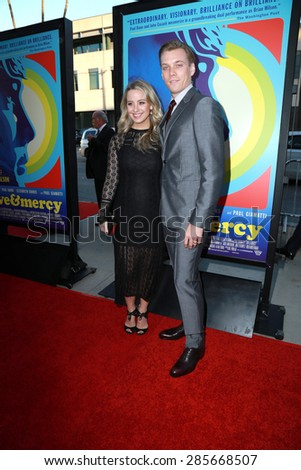 """LOS ANGELES - JUN 2:  Jake Abel at the """"Love & Mercy"""" Los Angeles Premiere at the Academy of Motion Picture Arts & Sciences on June 2, 2015 in Los Angeles, CA - stock photo"""