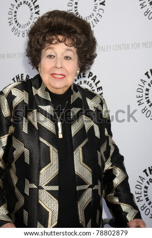 LOS ANGELES - JUN 7:  Jane Withers arrives at the Debbie Reynolds Hollywood Memorabilia Collection Auction & Auction Preview at Paley Center For Media on June 7, 2011 in Beverly Hills, CA - stock photo