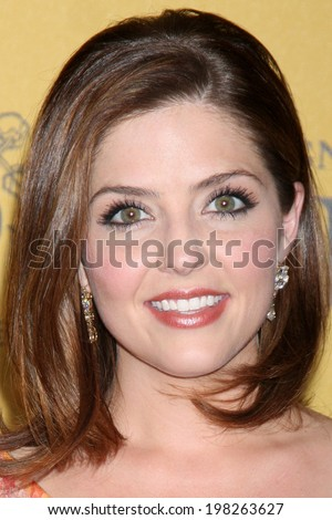 LOS ANGELES - JUN 11:  Jen Lilley at the Women In Film 2014 Crystal + Lucy Awards at Century Plaza Hotel on June 11, 2014 in Beverly Hills, CA - stock photo