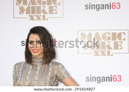 "LOS ANGELES - JUN 25:  Jenna Dewan-Tatum at the ""Magic Mike XXL"" Premiere at the TCL Chinese Theater on June 25, 2015 in Los Angeles, CA