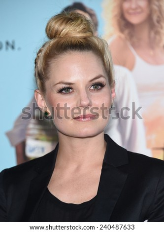 "LOS ANGELES - JUN 23:  Jennifer Morrison arrives to the ""Wish I Was Here"" Los Angeles Premiere  on June 23, 2014 in Los Angeles, CA                 - stock photo"