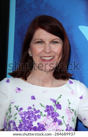 """LOS ANGELES - JUN 2:  Kate Flannery at the """"Love & Mercy"""" Los Angeles Premiere at the Academy of Motion Picture Arts & Sciences on June 2, 2015 in Los Angeles, CA - stock photo"""