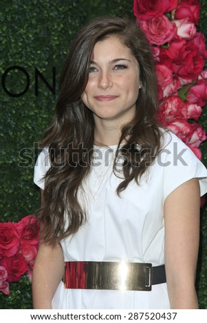 LOS ANGELES - JUN 13: Kennedy Tucker at the  LadyLike Foundation 7th Annual Women Of Excellence Scholarship Luncheon at Luxe Hotel on June 13, 2015 in Los Angeles, California. - stock photo