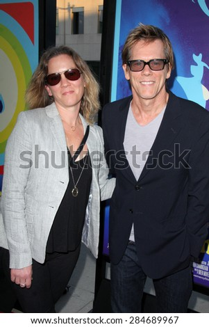 """LOS ANGELES - JUN 2:  Kevin Bacon at the """"Love & Mercy"""" Los Angeles Premiere at the Academy of Motion Picture Arts & Sciences on June 2, 2015 in Los Angeles, CA - stock photo"""