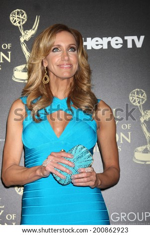 LOS ANGELES - JUN 22:  Lili Estefan at the 2014 Daytime Emmy Awards Arrivals at the Beverly Hilton Hotel on June 22, 2014 in Beverly Hills, CA - stock photo