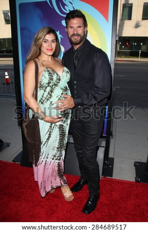 """LOS ANGELES - JUN 2:  Lorenzo Lamas at the """"Love & Mercy"""" Los Angeles Premiere at the Academy of Motion Picture Arts & Sciences on June 2, 2015 in Los Angeles, CA - stock photo"""