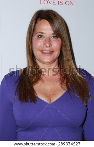 LOS ANGELES - JUN 3:  Lorraine Bracco at the Halle Berry And Revlon Celebrate Achievements In Cancer Research at the Four Seasons Hotel on June 3, 2015 in Los Angeles, CA - stock photo
