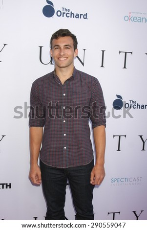"""LOS ANGELES - JUN 24:  Matthew Ziff at the """"Unity"""" Documentary World Premeire at the Director's Guild of America on June 24, 2015 in Los Angeles, CA - stock photo"""