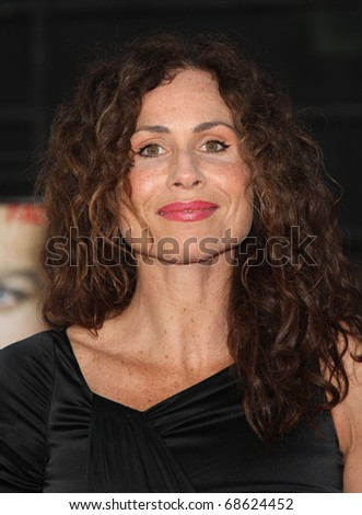 "LOS ANGELES - JUN 03:  Minnie Driver arrives to ""The A-Team"" Los Angeles Premiere on June 3, 2010 in Hollywood, CA - stock photo"