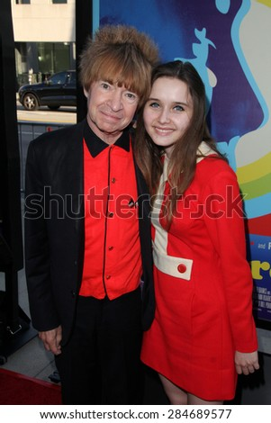 """LOS ANGELES - JUN 2:  Rodney Bingenheimer at the """"Love & Mercy"""" Los Angeles Premiere at the Academy of Motion Picture Arts & Sciences on June 2, 2015 in Los Angeles, CA - stock photo"""