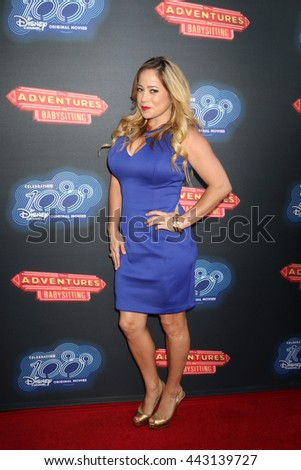 LOS ANGELES - JUN 23:  Sabrina Bryan at the 100th DCOM Adventures In Babysitting LA Premiere Screening at the Directors Guild of America on June 23, 2016 in Los Angeles, CA - stock photo