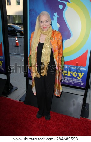 """LOS ANGELES - JUN 2:  Sally Kirkland at the """"Love & Mercy"""" Los Angeles Premiere at the Academy of Motion Picture Arts & Sciences on June 2, 2015 in Los Angeles, CA - stock photo"""