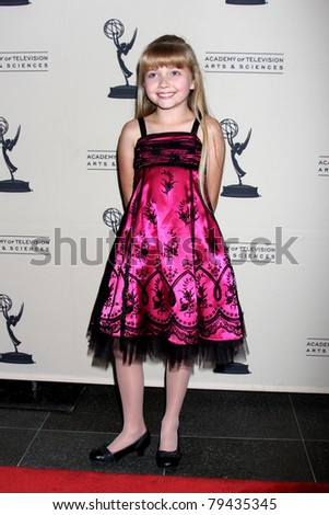 LOS ANGELES - JUN 16:  Samantha Bailey arrives at the Academy of Television Arts and Sciences Daytime Emmy Nominee Reception at SLS Hotel at Beverly Hills on June 16, 2011 in Beverly Hills, CA - stock photo