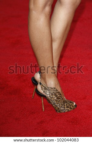 LOS ANGELES - JUN 27: Selita Ebanks arrives at the Premiere of Universal Pictures' 'Larry Crowne' at Grauman's Chinese Theatre on June 27, 2011 in Los Angeles, California - stock photo