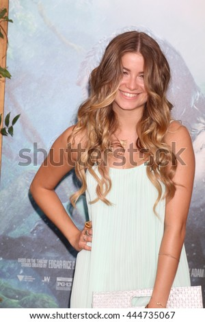 LOS ANGELES - JUN 27:  Sofia Reyes at The Legend Of Tarzan Premiere at the Dolby Theater on June 27, 2016 in Los Angeles, CA - stock photo