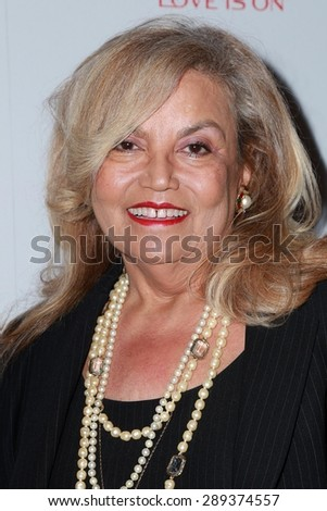 LOS ANGELES - JUN 3:  Suzanne dePasse at the Halle Berry And Revlon Celebrate Achievements In Cancer Research at the Four Seasons Hotel on June 3, 2015 in Los Angeles, CA - stock photo