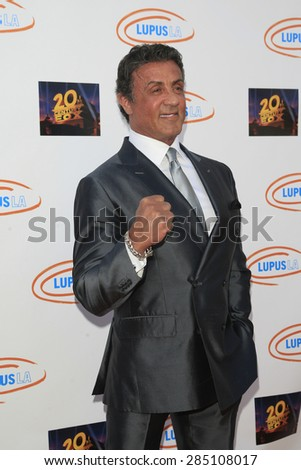 LOS ANGELES - JUN 6: Sylvester Stallone at the Lupus LA Orange Ball And A Night Of Superheroes at the Fox Studio lot on June 6, 2015 in Los Angeles, California - stock photo