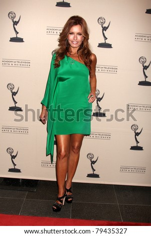 LOS ANGELES - JUN 16:  Tracey Bregman arrives at the Academy of Television Arts and Sciences Daytime Emmy Nominee Reception at SLS Hotel at Beverly Hills on June 16, 2011 in Beverly Hills, CA - stock photo