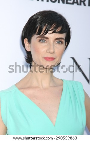 """LOS ANGELES - JUN 24:  Victoria Summer at the """"Unity"""" Documentary World Premeire at the Director's Guild of America on June 24, 2015 in Los Angeles, CA - stock photo"""