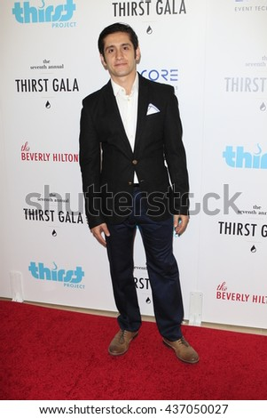 LOS ANGELES - JUN 13:  Wesam Keesh at the 7th Annual Thirst Gala at the Beverly Hilton Hotel on June 13, 2016 in Beverly Hills, CA - stock photo