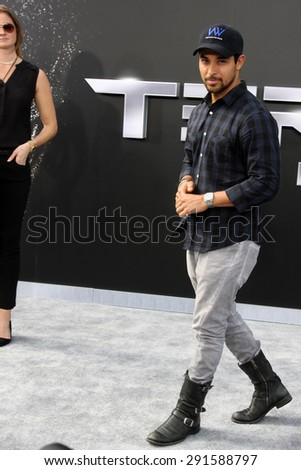 """LOS ANGELES - JUN 28:  Wilmer Valderrama at the """"Terminator Genisys"""" Los Angeles Premiere at the Dolby Theater on June 28, 2015 in Los Angeles, CA - stock photo"""