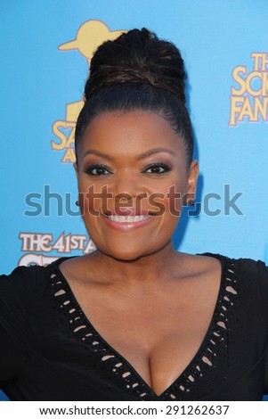 LOS ANGELES - JUN 25:  Yvette Nicole Brown at the 41st Annual Saturn Awards Arrivals at the The Castaways on June 25, 2015 in Burbank, CA - stock photo