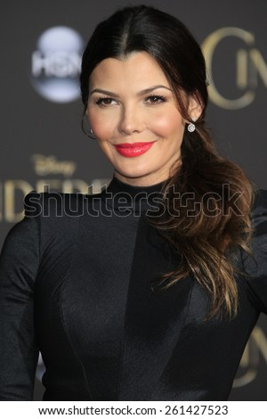 LOS ANGELES - MAR 1: Ali Landry at the World Premiere of 'Cinderella' at the El Capitan Theater on March 1, 2015 in Hollywood, Los Angeles, California - stock photo