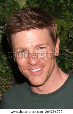 LOS ANGELES - MAR 26:  Burgess Jenkins at the Young & Restless 42nd Anniversary Celebration at the CBS Television City on March 26, 2015 in Los Angeles, CA - stock photo