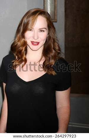 LOS ANGELES - MAR 26:  Cameron Grimes at the Young & Restless 42nd Anniversary Celebration at the CBS Television City on March 26, 2015 in Los Angeles, CA - stock photo