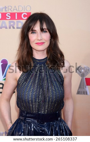LOS ANGELES - MAR 29:  Carice van Houten at the 2015 iHeartRadio Music Awards at the Shrine Auditorium on March 29, 2015 in Los Angeles, CA - stock photo