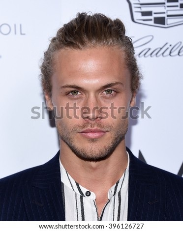 LOS ANGELES - MAR 20:  Christopher Mason Brown arrives to the 2nd Annual Fashion Los Angeles Awards  on March 20, 2016 in Hollywood, CA.                 - stock photo