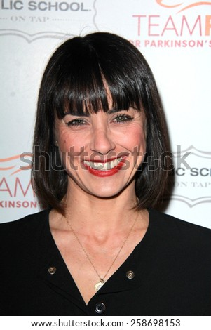 LOS ANGELES - MAR 7:  Constance Zimmer at the Raising The Bar To End Parkinsons Event at the Public School 818 on March 7, 2015 in Sherman Oaks, CA - stock photo