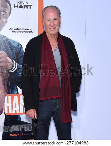 "LOS ANGELES - MAR 25:  Craig T. Nelson arrives to the ""Get Hard"" Los Angeles Premiere  on March 25, 2015 in Hollywood, CA                 - stock photo"