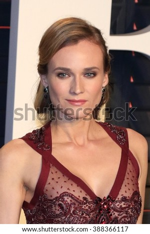 LOS ANGELES - MAR 3:  Diane Kruger at the Bosch Season 2 Premiere Screening at the Silver Screen Theater at the Pacific Design Center on March 3, 2016 in West Hollywood, CA - stock photo