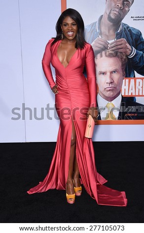"LOS ANGELES - MAR 25:  Edwina Findley arrives to the ""Get Hard"" Los Angeles Premiere  on March 25, 2015 in Hollywood, CA                 - stock photo"