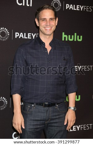 LOS ANGELES - MAR 13:  Greg Berlanti at the PaleyFest Los Angeles - Supergirl at the Dolby Theater on March 13, 2016 in Los Angeles, CA - stock photo