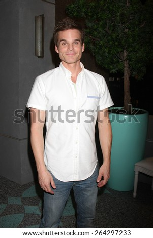LOS ANGELES - MAR 26:  Greg Rikaart at the Young & Restless 42nd Anniversary Celebration at the CBS Television City on March 26, 2015 in Los Angeles, CA - stock photo