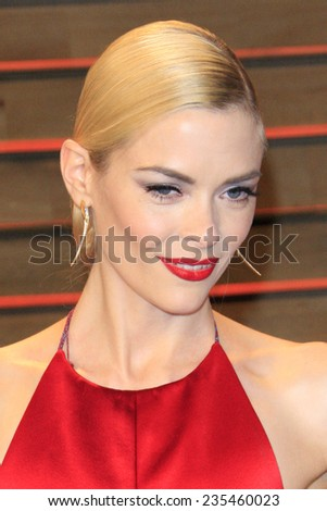 LOS ANGELES - MAR 2:  Jaime King at the 2014 Vanity Fair Oscar Party at the Sunset Boulevard on March 2, 2014 in West Hollywood, CA - stock photo