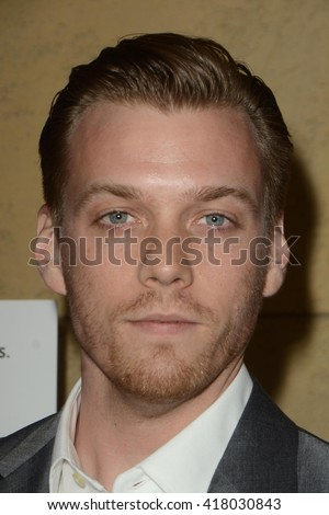 LOS ANGELES - MAR 22:  Jake Abel at the I Saw the Light LA Premiere at the Egyptian Theatre on March 22, 2016 in Los Angeles, CA - stock photo