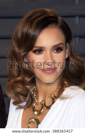 LOS ANGELES - MAR 3:  Jessica Alba at the Bosch Season 2 Premiere Screening at the Silver Screen Theater at the Pacific Design Center on March 3, 2016 in West Hollywood, CA - stock photo