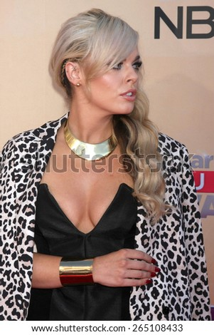 LOS ANGELES - MAR 29:  Katy Tiz at the 2015 iHeartRadio Music Awards  at the Shrine Auditorium on March 29, 2015 in Los Angeles, CA - stock photo