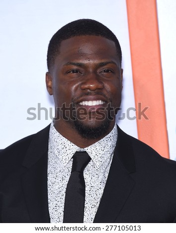 "LOS ANGELES - MAR 25:  Kevin Hart arrives to the ""Get Hard"" Los Angeles Premiere  on March 25, 2015 in Hollywood, CA                 - stock photo"