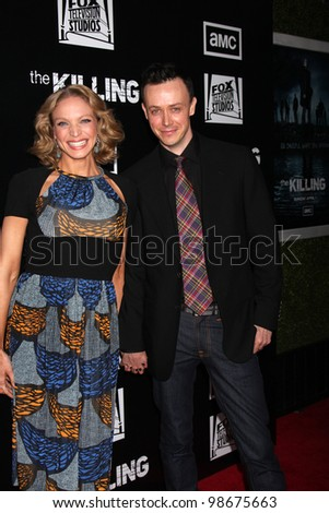 """LOS ANGELES - MAR 26:  Kristin Lehman arrives at  the AMC's """"The Killing"""" Season 2 Premiere at the ArcLight Theaters on March 26, 2012 in Los Angeles, CA - stock photo"""