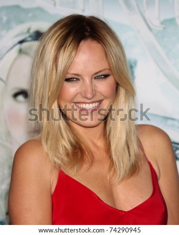 """LOS ANGELES - MAR 23:  Malin Akerman arrives to the """"Sucker Punch"""" World Premiere  on March 23,2011 in Hollywood, CA - stock photo"""