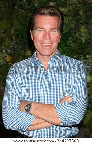 LOS ANGELES - MAR 26:  Peter Bergman at the Young & Restless 42nd Anniversary Celebration at the CBS Television City on March 26, 2015 in Los Angeles, CA - stock photo