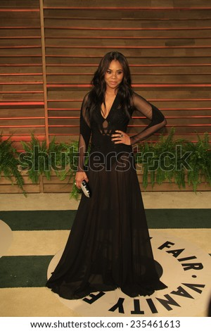 LOS ANGELES - MAR 2:  Regina Hall at the 2014 Vanity Fair Oscar Party at the Sunset Boulevard on March 2, 2014 in West Hollywood, CA - stock photo