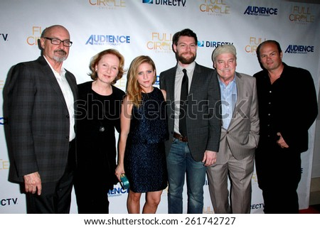 """LOS ANGELES - MAR 16: Terry O'Quinn, Kate Burton, Brittany Snow, Patrick Fugit, Stacy Keach, Chris Bauer at the """"Full Circle"""" Season 2 Premiere at The London on March 16, 2015 in West Hollywood, CA - stock photo"""