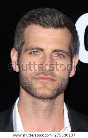"LOS ANGELES - MAY 3:  Alan Powell at the ""Where Hope Grows"" Los Angeles Premiere at the ArcLight Hollywood Theaters on May 3, 2015 in Los Angeles, CA - stock photo"