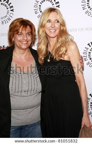 LOS ANGELES - MAY 13: Alana Stewart and Dr Ursula Jacob at the Paley Center for Media world premiere screening of 'Farrah's Story' in Beverly Hills, California on May 13, 2009 - stock photo