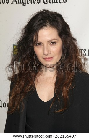 "LOS ANGELES - MAY 26:  Aleksa Palladino at the ""Illicit Ivory"" World Premiere at the Witherbee Auditorium at the Los Angeles Zoo  on May 26, 2015 in Los Angeles, CA - stock photo"